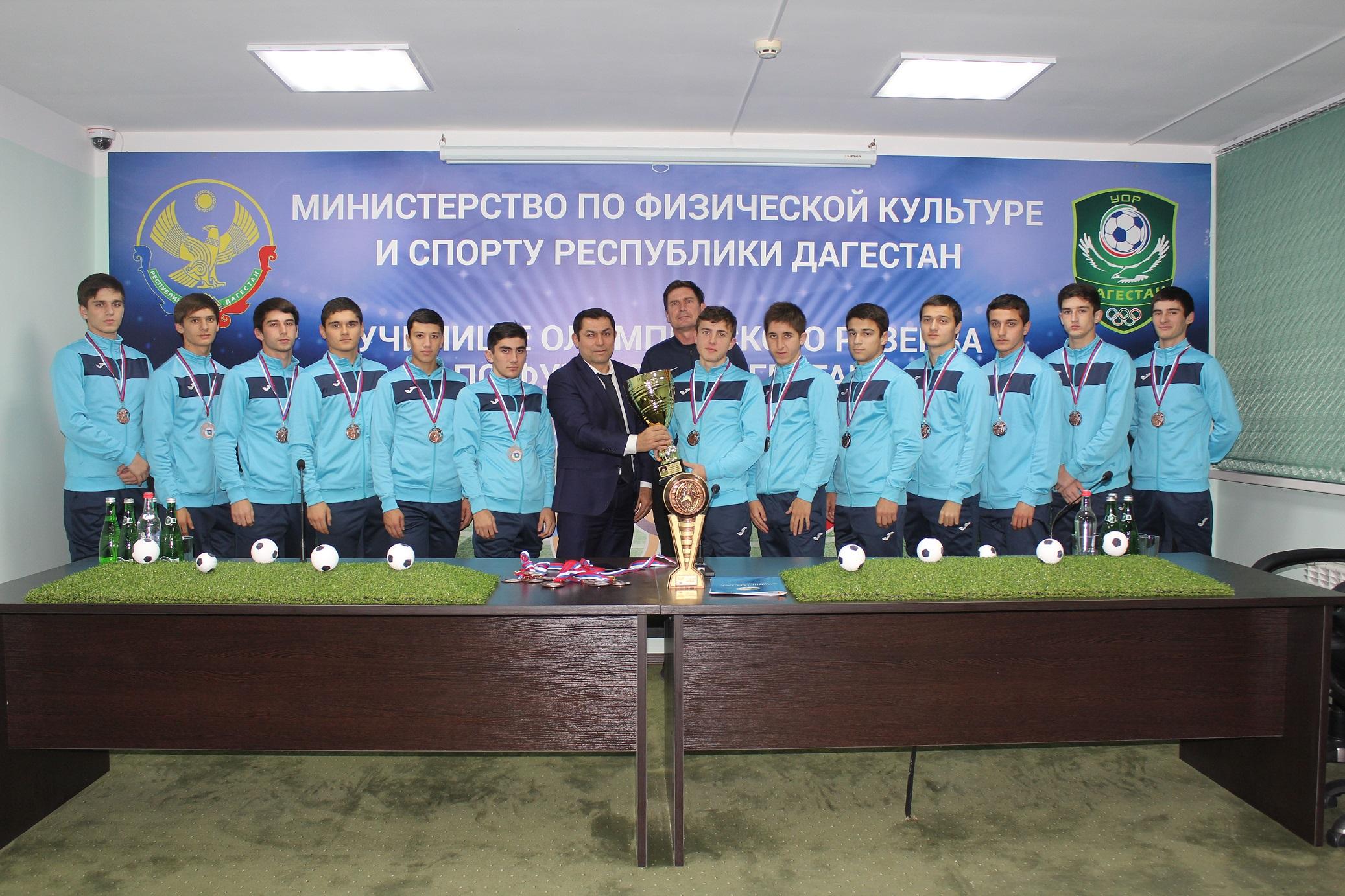 Воспитанники училища впервые стали призерами первенства России СКФО ЮФО